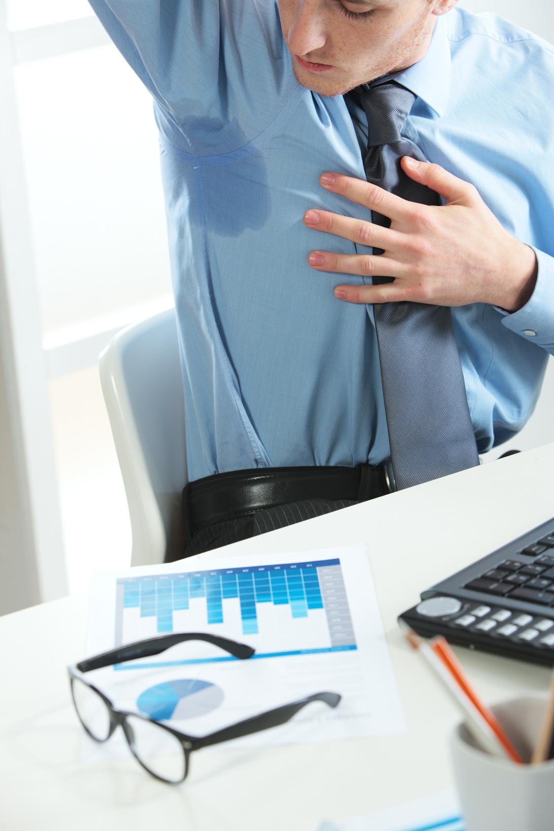 Leczenie nadpotliwości Bydgoszcz Zabiegi leczące nadmierną potliwość Nadpotliwość